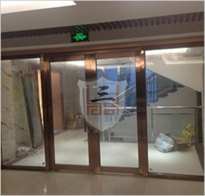 Fireproof glass door and window