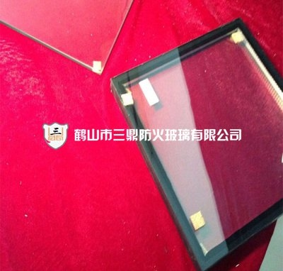 Fire-resistant glass 35