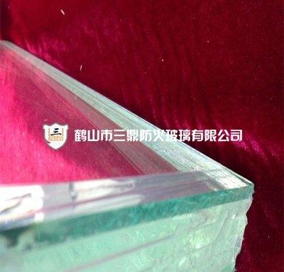 Fireproof glass 33