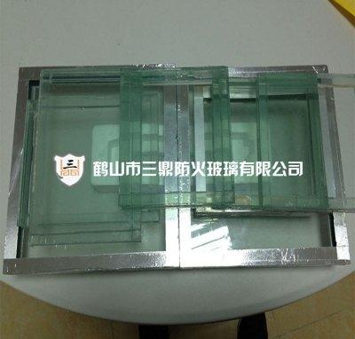 Fireproof glass 1
